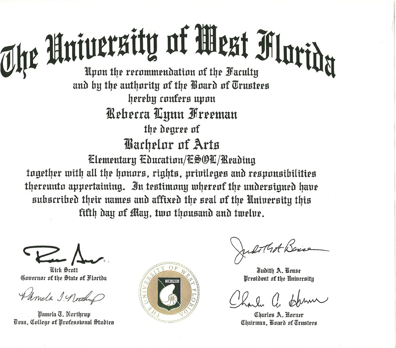 Education Degree Education Degree Florida